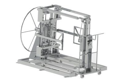 Переворачиватель паллет сырных форм