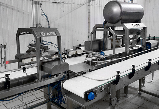 Новинка: линия автоматического распрессовывания сырных форм