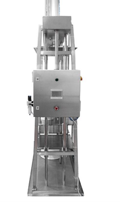 Вертикальный пресс для сыра с автоматическим пультом управления
