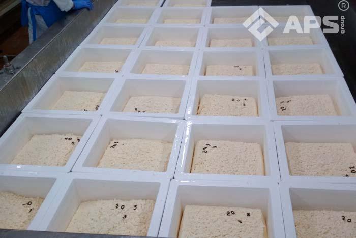 Формовочная колонна для сыра для цилиндрических сырных форм