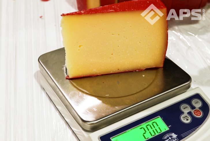 Нарезка сыра на фиксированный вес в пределах ГОСТа