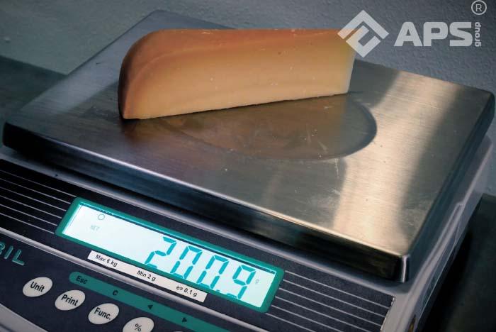 Пример получаемого сыра