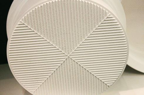 Микроперфорация на пластиковых формах нанесена на крышку и корпус формы