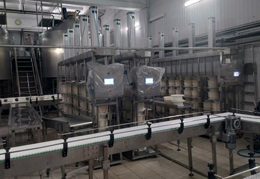 Увеличение объема переработки молока на 40 тонн без увеличения площадей