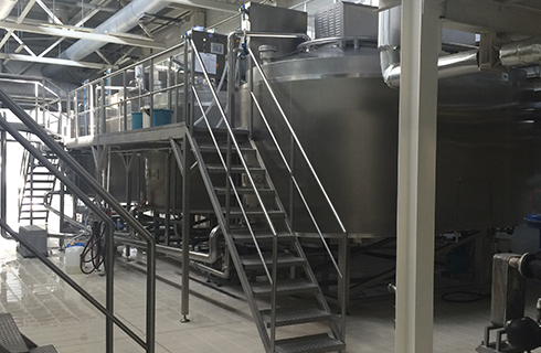 Dairy plant strapping