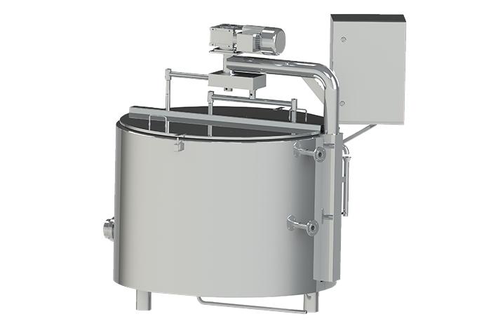 Semi-automatic cheese maker 500 liters
