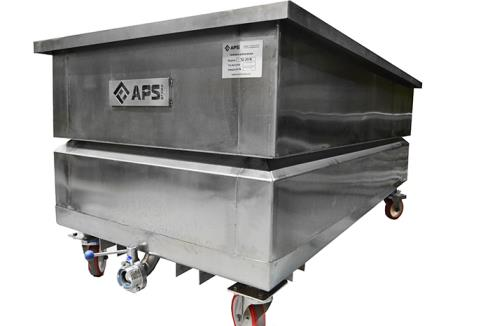 Drain Trolley for cheese moulds