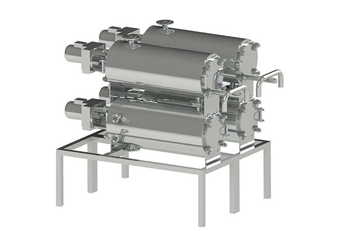 Butter maker model OM-3TM-4 for butter and spreads