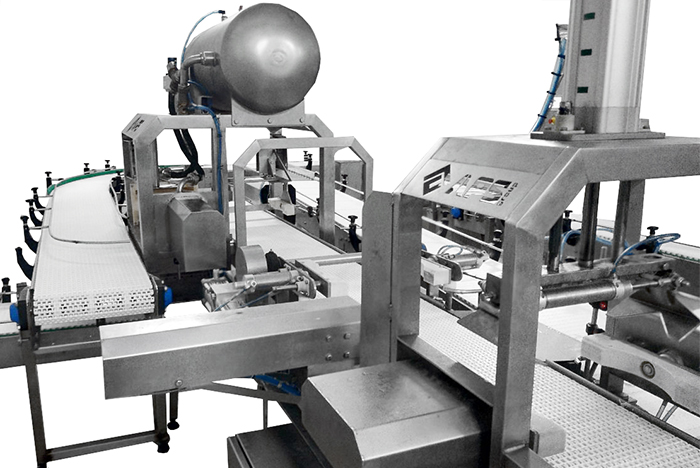 Automatic cheese demoulding  line
