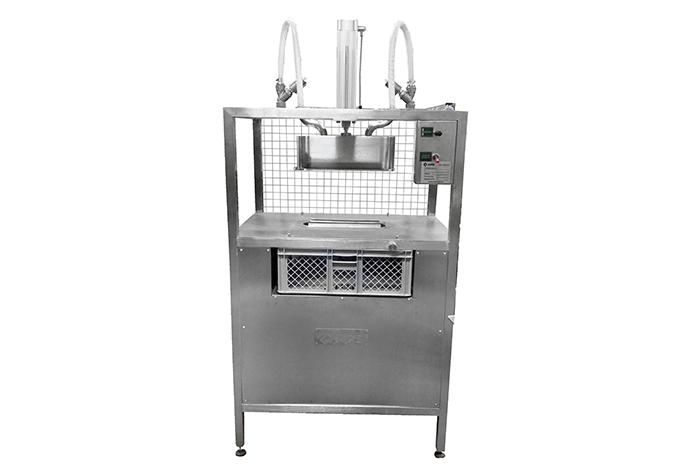 Cheese demoulding machine