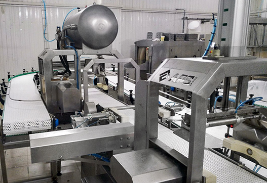 Brand new: automatic cheese demoulding line