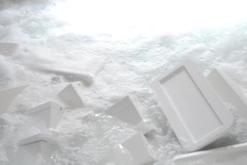 Ванна мойки сырных форм