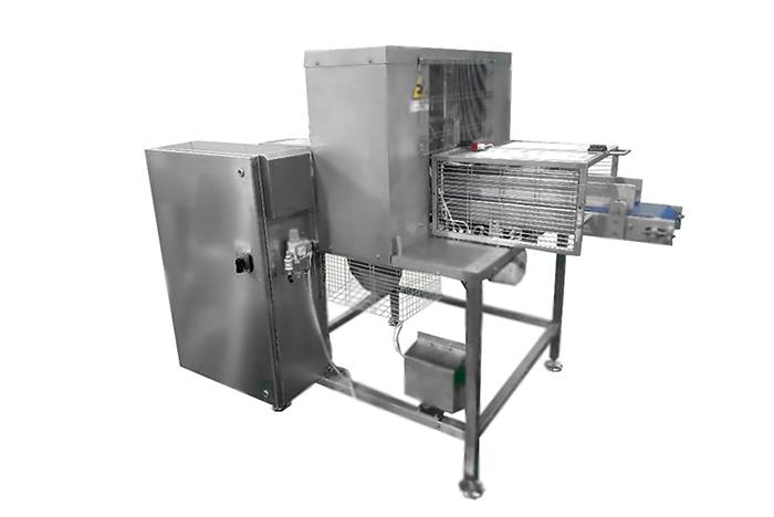 Полуавтоматическая сырорезка для брускового сыра АПС