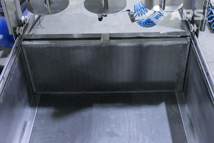 Пресс тележка на производстве сыра