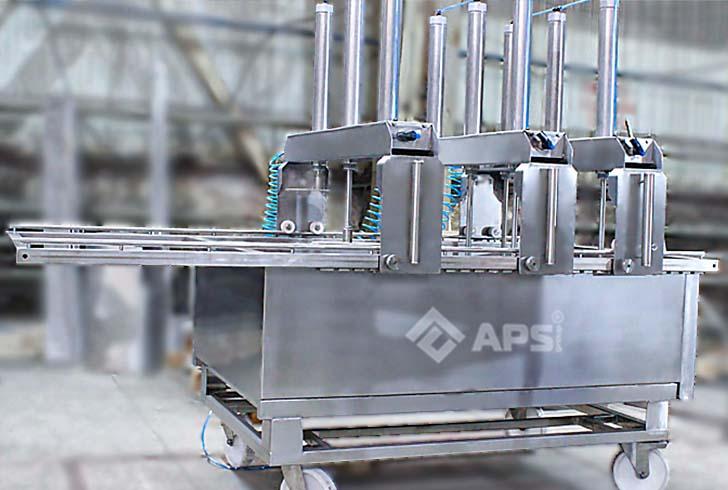 Пресс туннельный для сыра при производстве сычужных сыров