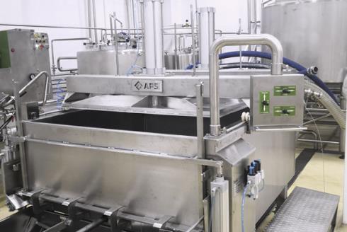 Комплект оборудования для производства сыра: аппарат формовочный АФ 300