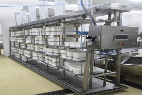 Комплект оборудования для производства сыра: пресс для сыра ПС 30А