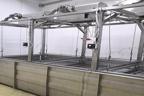 Комплект оборудования для производства сыра: солильный бассейн