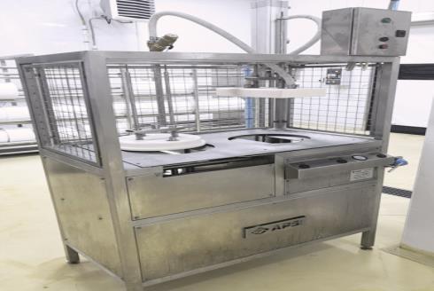 Комплект оборудования для производства сыра: распрессовыватель форм для сыра РС-20