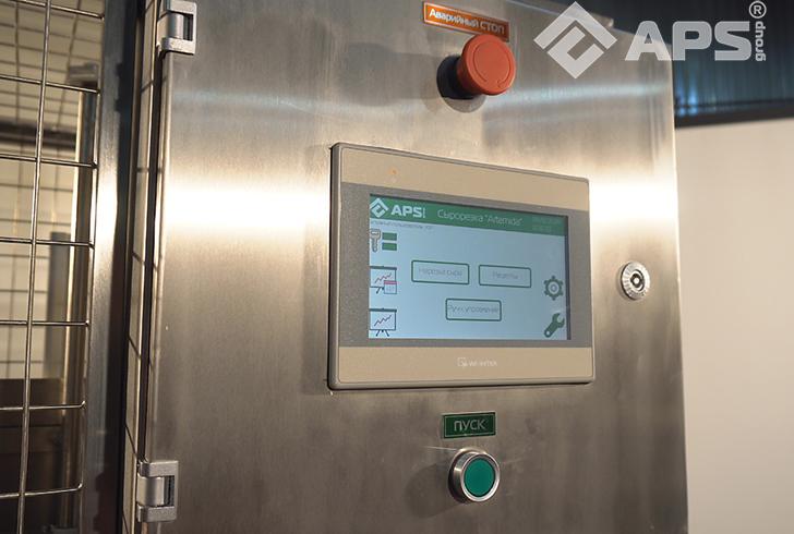Сенсорная панель управления ломтерезки для нарезки сыра на фикс вес